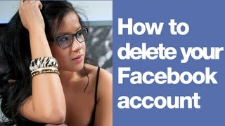 How To Delete Facebook Account In 2012   How To Delete A Facebook Account