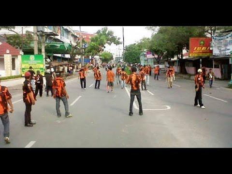 Video Mencekam Kota Medan Saat Terjadi Bentrokan antara Ormas PP dan IPK