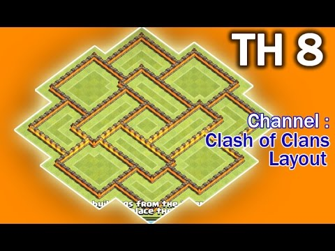 Coc Th 8 Hard Base 1
