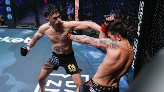 Camilo Mejia vs Andreu Mendoza (English) Full Fight | MMA | Combate Stockton
