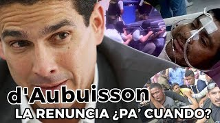 Roberto d'Aubuisson ¿la renuncia pa' cuando? - SOY JOSE YOUTUBER