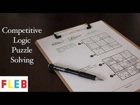 Logic Puzzle Speed Solve - Diagonal Sudoku