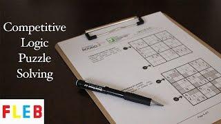Logic Puzzle Speed Solve - Diagonal Sudoku