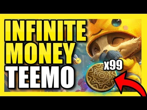 KLEPTO TEEMO SUPPORT! | 2x KLEPTO PROCS PER SECOND! INFINITE MONEY! | Best Teemo Build Season 9