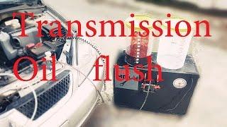 Complete Transmission Fluid flush