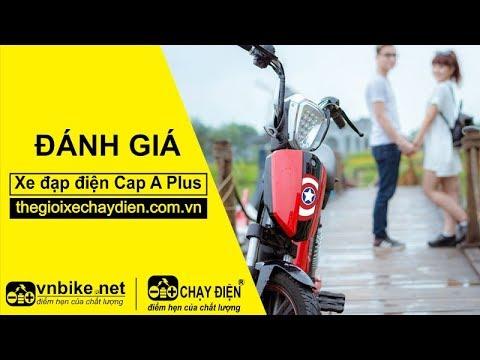 Đánh giá xe đạp điện Cap A Plus