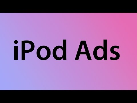 Every Apple iPod Ad ever. (2001-2012)