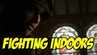 FIGHTING INDOORS! - BROTHERS IN ARMS: HELL'S HIGHWAY - EPISODE 5