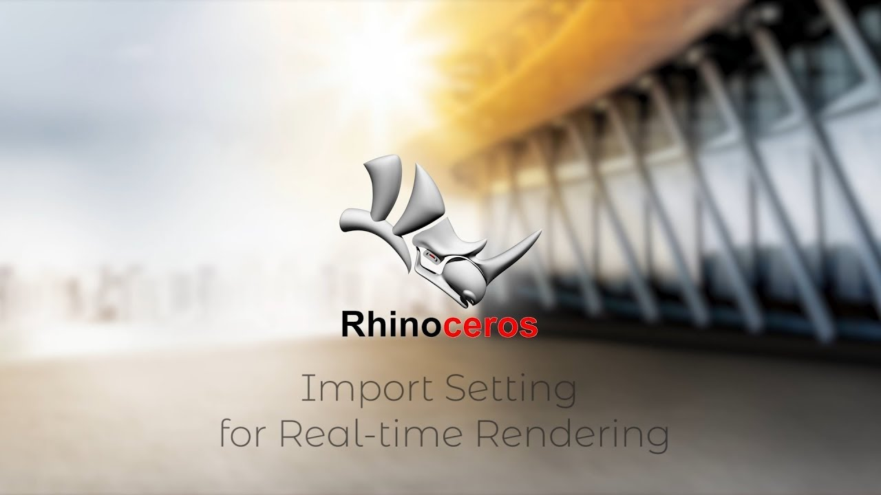 rendering in rhinoceros