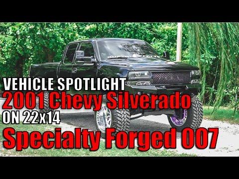 Spotlight - 2001 Chevy Silverado 1500 with 12' lift, 22x14's and 37's