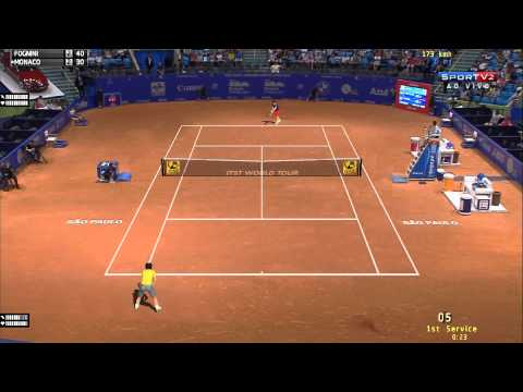 Tennis Elbow 2013 Fognini vs Monaco Sao Paulo [ITST Mod 1.16] #017 HD