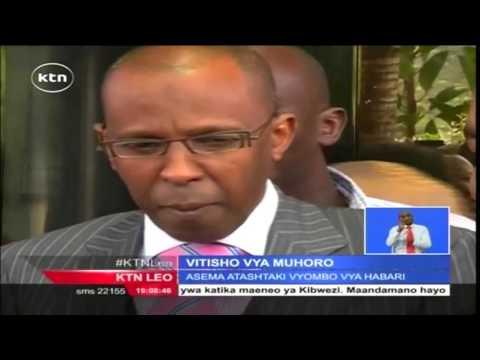 Mkuu wa upelelezi Ndegwa Muhoro akosoana na wakili Ahmednassir Abdullahi kuhusu madai ya ufisadi