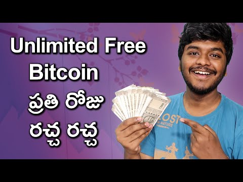 Earn Unlimited Free BITCOIN Everyday | Earn Money Online In Telugu | Smart Telugu Trader