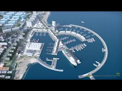 port project ,Technology creation of ramps seaports ( Ports )
