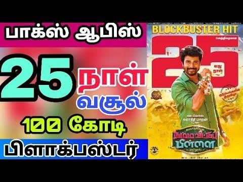 Namma Veettu Pillai Movie 25 Days Worldwide Box office Collection – Sivakarthikeyan