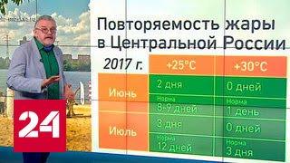 """""""Погода 24"""": в Москву приходит летняя жара"""