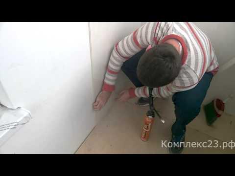 0 - Стінові панелі для ванної — монтаж