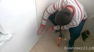 видео Декоративные стеновые панели – установка