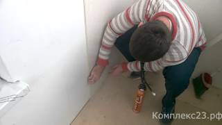 Монтаж пвх панелей сразу на стену. Без направляющих!