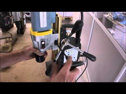 Бормашина за ядково пробиване с магнитна стойка JEPSON MAGPRO 50/2S #MTt4REZUpxY