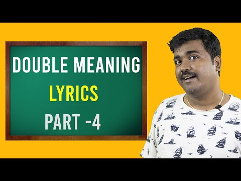 Double Meaning Lyrics In Tamil|Part 4| Cinema Kichdy