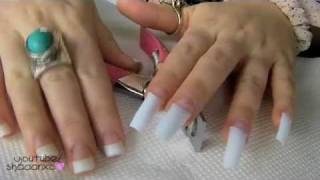 Acrylic Nails ♡ How To Do Your Own Acrylic Nails At Home ♡