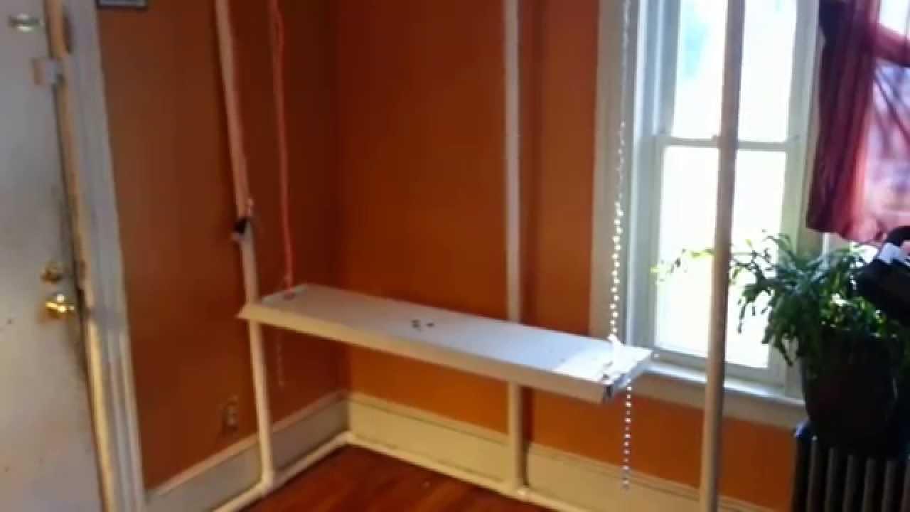 DIY indoor grow tent frame & DIY indoor grow tent frame - YouTube