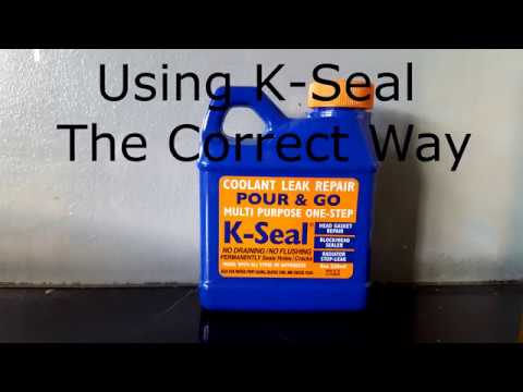 How to use K-Seal URGENT Watch before you damage your Engine, radiator leak repair  fix correctly