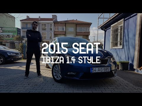 Seat İbiza 2015 Model 70 Bin Km I TEST