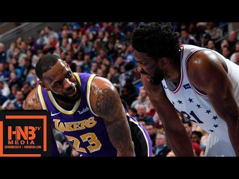 Los Angeles Lakers vs Philadelphia Sixers Full Game Highlights | 02/10/2019 NBA Season