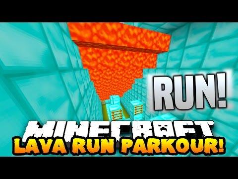 Minecraft SUPER LAVA RUN! (PARKOUR FROM LAVA!) w/PrestonPlayz, Lachlan & MrWoofless