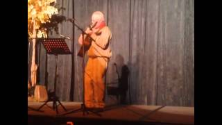 Aldo Leopold Impersonator Plays Guitar - National Wilderness Conference 2014