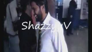 shahid afridi hits razzaq with a bat cricket fight