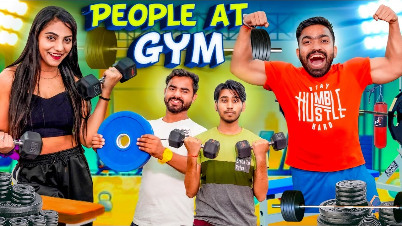 Download Types of People at the Gym | Guddu Bhaiya
