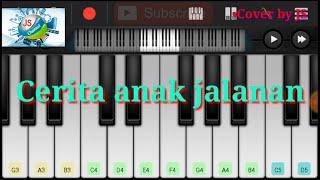 CERITA ANAK JALANAN - Dangdut Cover - (Karaoke+Lirik) - Versi JS