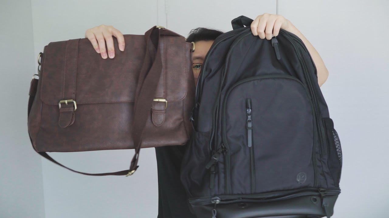 Backpacks vs. Messenger Bags for Travel Camera