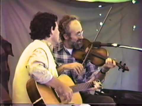 Michael Cooney & George Wilson at the 1985 Old Songs Festival