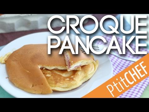 recette-de-croque-pancakes---ptitchef.com
