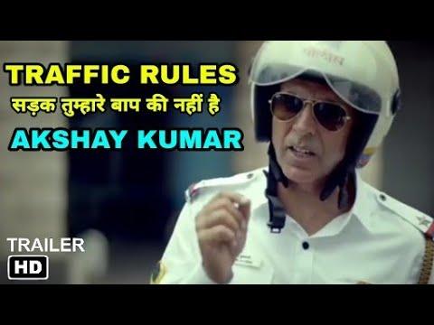 Traffic police Akshay kumar new Campaign, Akshay kumar Teaching Traffic rules must watch