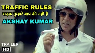 Traffic police Akshay kumar new Campaign, Akshay kumar Teaching Traffic rules must watch