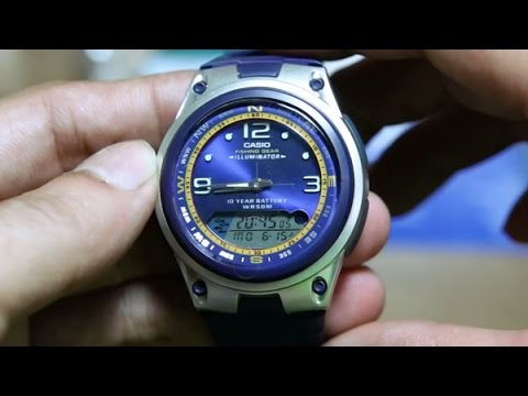5406766f0f2 Casio Fishing Gear AW-82-2AV - YouTube