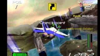 N.GEN Racing (PS1) Gameplay: X-Fighter Championship