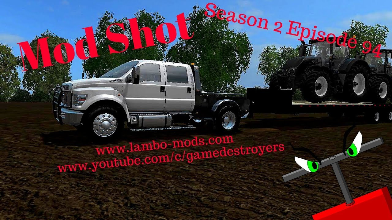 hight resolution of 2018 ford f650 mod shot ford f650 with hauler bed youtube