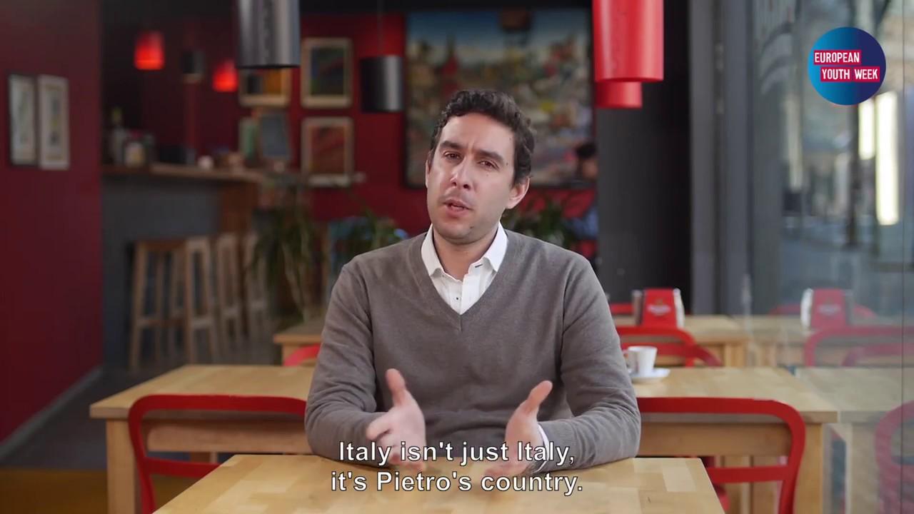 European Youth Week – João Miguel Gomes, Portugal