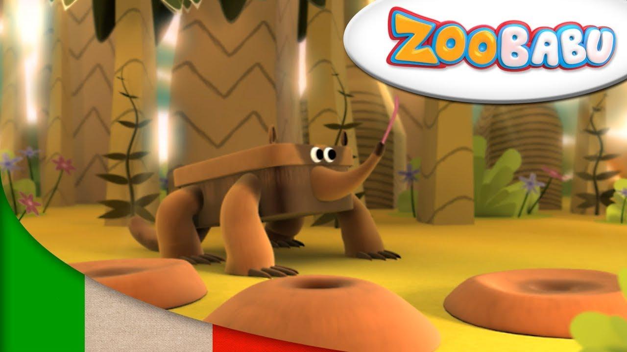 Zoobabu formichiere e altro cartoni animati youtube