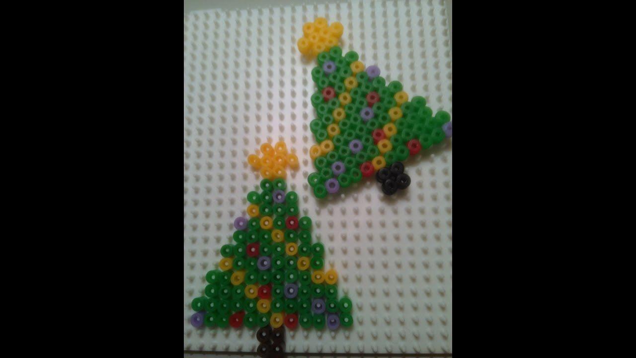 Arbol de navidad con hama beads youtube - Tutorial arbol de navidad ...
