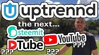 Uptrennd.com – New Competitor for YouTube, DTube, Steemit, BitTube - For Social Media Crypto News