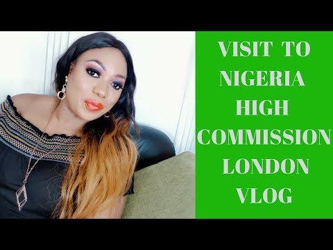 VISIT TO NIGERIA HIGH COMMISSION LONDON | VLOG