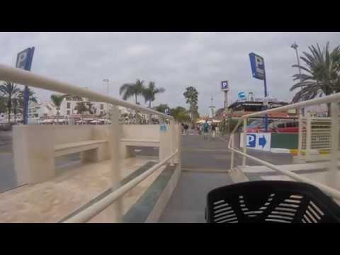 Tenerife Playa de las Americas main shopping street. PART 2