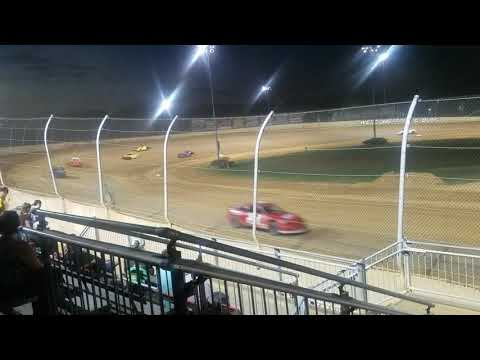 Lawrenceburg speedway compact heat race #1 9-21-19